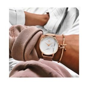 MVT Marble gold watch
